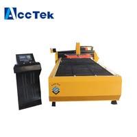 AccTek new design heavy duty cnc plasma cutter/engraver aluminum machine with stepper motor working area 1500*3000mm
