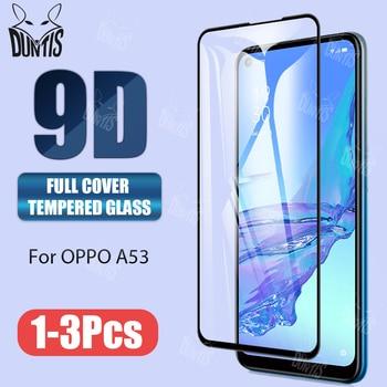 New 9D Tempered Glass For Oppo A93 A92 A53 A52 A31 A12 Full Cover Screen Protector tempered glass For Oppo A33 2020 glass film 1