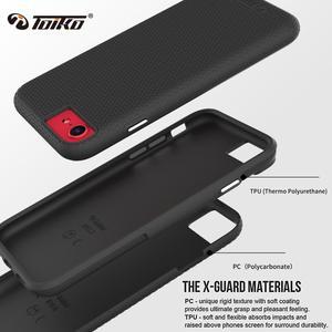 Image 2 - TOIKO X koruyucu 2 in 1 darbeye dayanıklı telefon kılıfı için iPhone 7 8 artı SE arka kapak tampon sağlam zırh hibrid TPU PC koruyucu kabuk