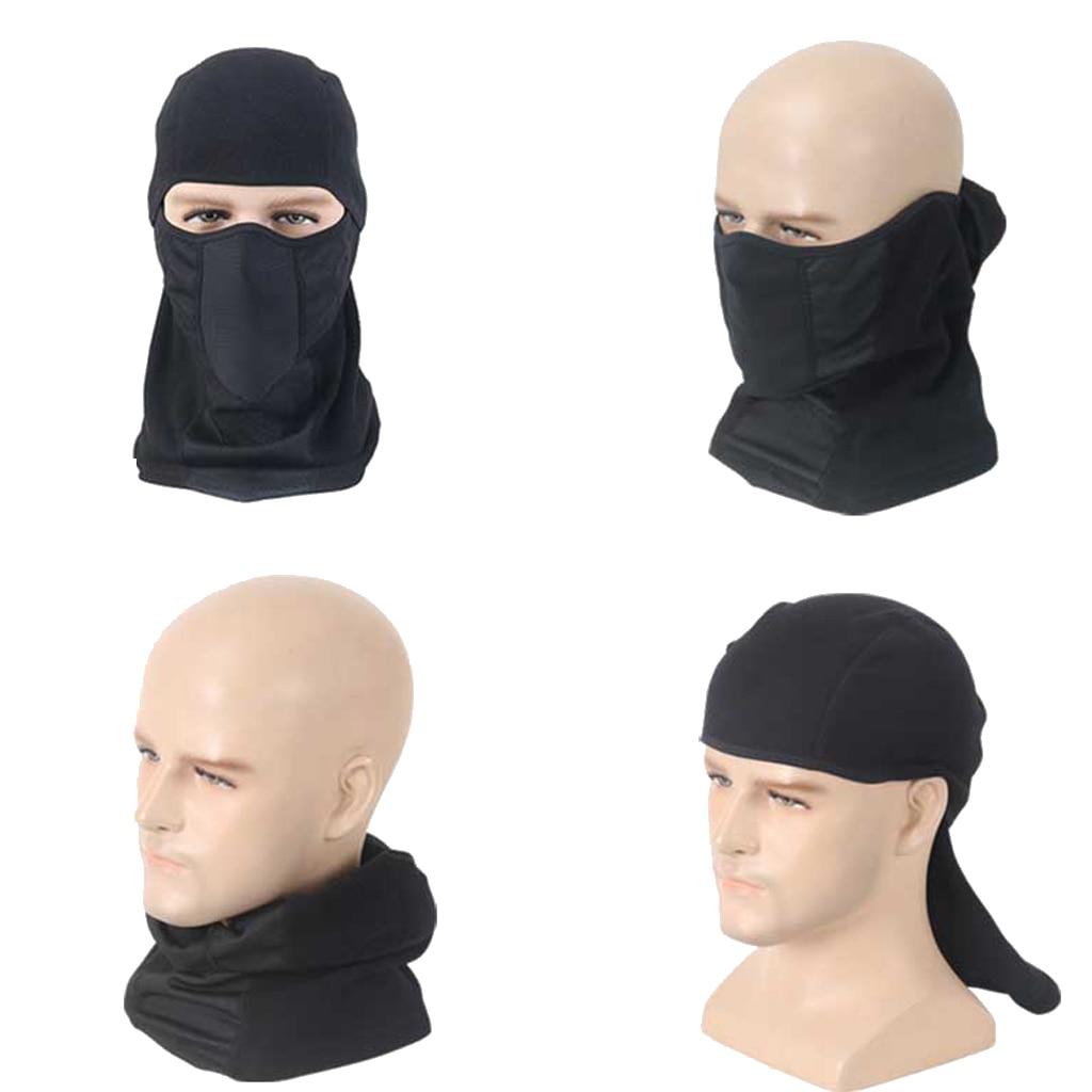 Unisex Balaclava Face Mask Ski Mask Face Protection Full Face Mask Black High Quality Imported Fabric Soft