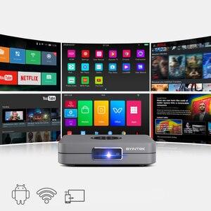 Image 4 - BYINTEK U20 Full HD 1080P 3D 4K Android Smart Wifi Portable Mini LED DLP Projector Beamer for Smartphone