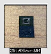 1PCS 10PCS Brand new original authentic SDINBDA4 64G BGA 153 SDINBDA4 BGA153 EMMC 5.1 64GB mobile phone memory chip