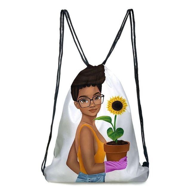 милый женский рюкзак в африканском стиле сумка для покупок путешествий фотография