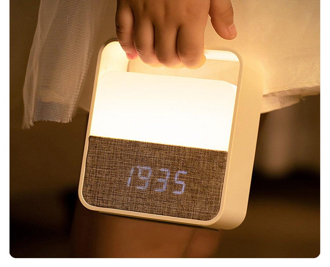 Xiaomi Midea Clock Night Light 7