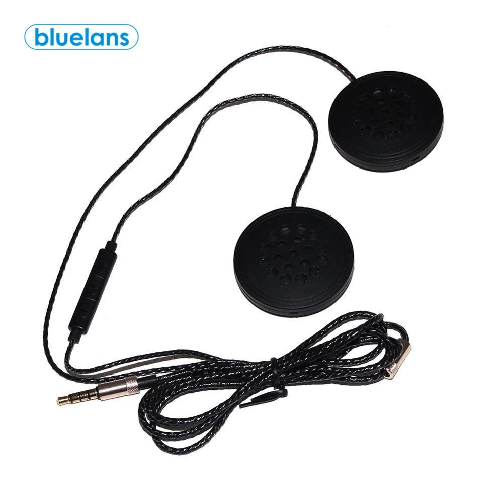 T33 Motorcycle Motorbike Helmet Headset 3.5mm Wired Accessory Headphone Speaker Microphone Motorcycle Helmet Bluetooth Intercom