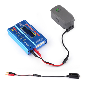 цена на Quick Charge Cable for DJI Mavic 2 Battery Conversion B6 B6AC MINI Balance Charger Charging Transfer for MAVIC 2 Pro Zoom Drone
