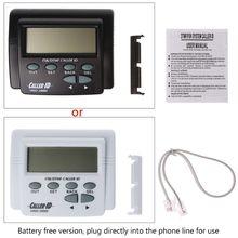 Двойной сигнал FSK/DTMF телефонный звонок коробка звонящий ID Мобильный телефон ЖК-дисплей