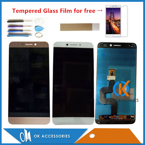 Grey Gold White Color For Letv Le2 <font><b>Le</b></font> <font><b>2</b></font> LeEco X527 X620 X520 <font><b>X526</b></font> LCD Display With Touch <font><b>Screen</b></font> Digitizer Assembly With Kits image