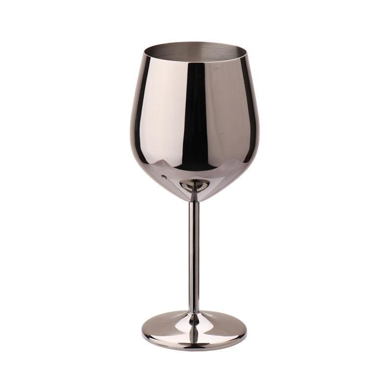 Купить 304 нержавеющаясталь красное вино стекло серебро розовое золото