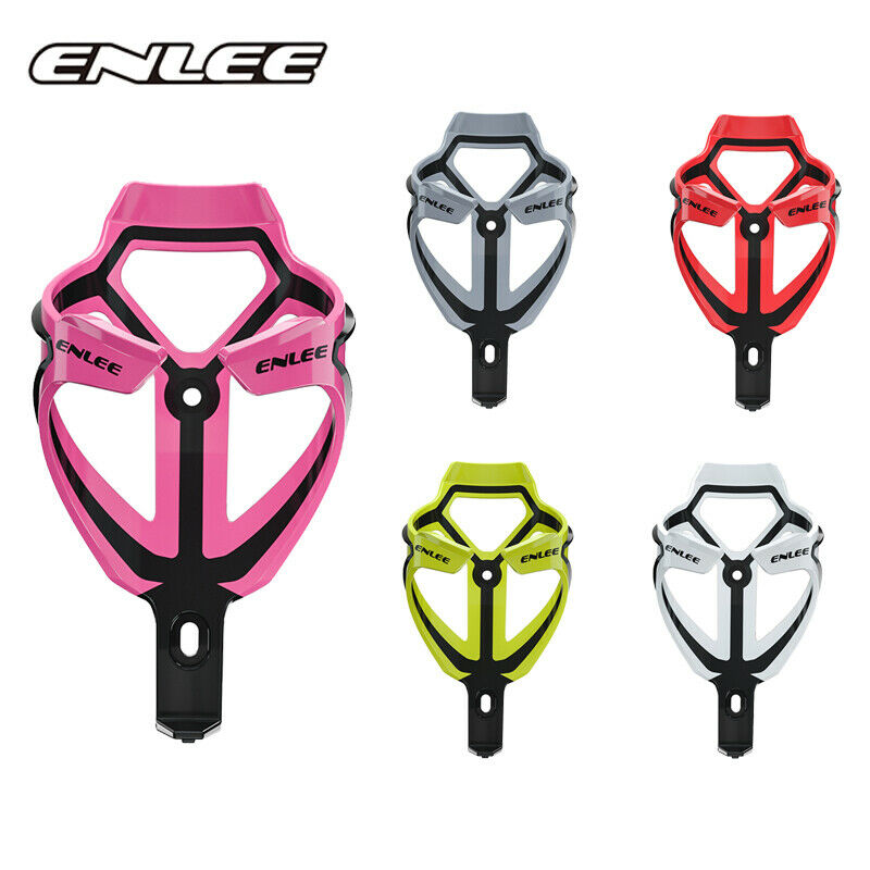 ENLEE Mountain Bike Water Bottle Holder MTB Bicycle Carbon Bottle Cage Ultralight Highly Elastic Cycling Accessories Parts
