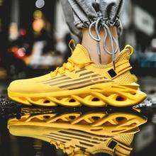 2020 Autumn New Men's Sports Shoes Plus Size Men Running