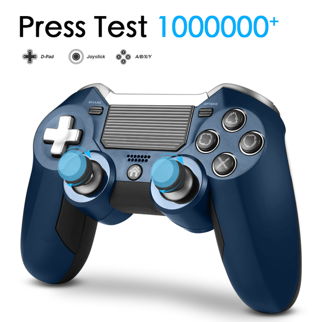 PS4 Gamepad,Dual Vibration Elite PS4 2.4G Wireless Game Controller Joystick for Play Station 4 Video Gaming Console and PS3 3