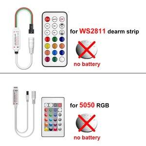 Image 3 - WS2811 LED 스트립 라이트 드림 컬러 RGB 램프 5M 10m 20M SMD 5050 비 방수 다이오드 DC 12V 어댑터 세트 Led 스트립 테이프 유연한