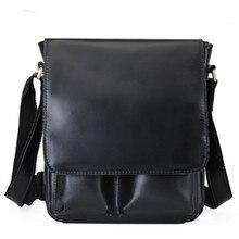 2020 Casual cow leather men crossbody bag OL business shoulder bags