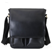 2020 Casual cow leather men crossbody bag OL business should