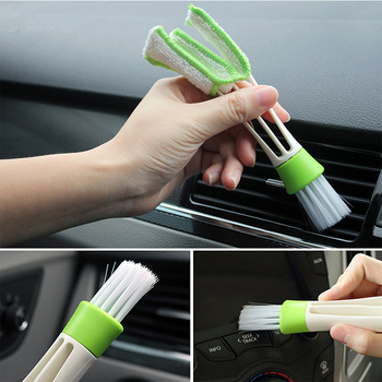 Car Clean Brush Accessories Sticker For BMW X5 X3 X6 E46 E39 E38 E90 E60 E36 F30 F30 E34 F10 F20 E92 E38 E91 E53 E87 M M3 M5 image