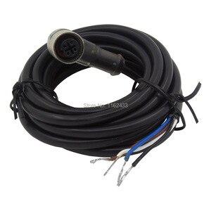 FSC12-FBLP-4 M12 5m kabel pcv złącze czujnika PNP z LED 4 pins bend kobieta głowy dla M12 PNP zbliżeniowy przełącznik czujnikowy