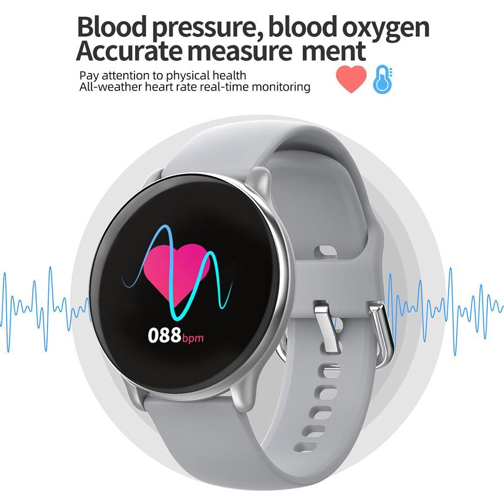 Pedometer Smart Bracelet Fitness Tracker Health Watch Heart Rate Blood Pressure Monitor IP68 Waterproof Bluetooth For Women Men