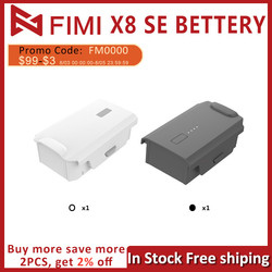 In Stock FIMI X8 SE 2020 Accessories Drone Battery Replacement Intelligent Flight Battery 11.4V 4500mAh UP to 35mins Flight