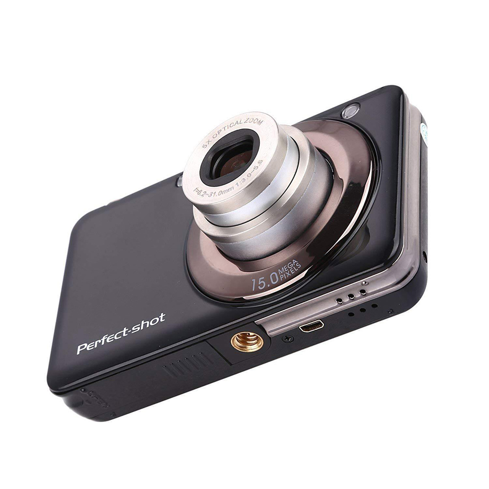 24MP cadeaux Photo vidéo enregistrement Anti-secousse appareil Photo numérique haute définition batterie au Lithium Portable coloré enfants Zoom optique
