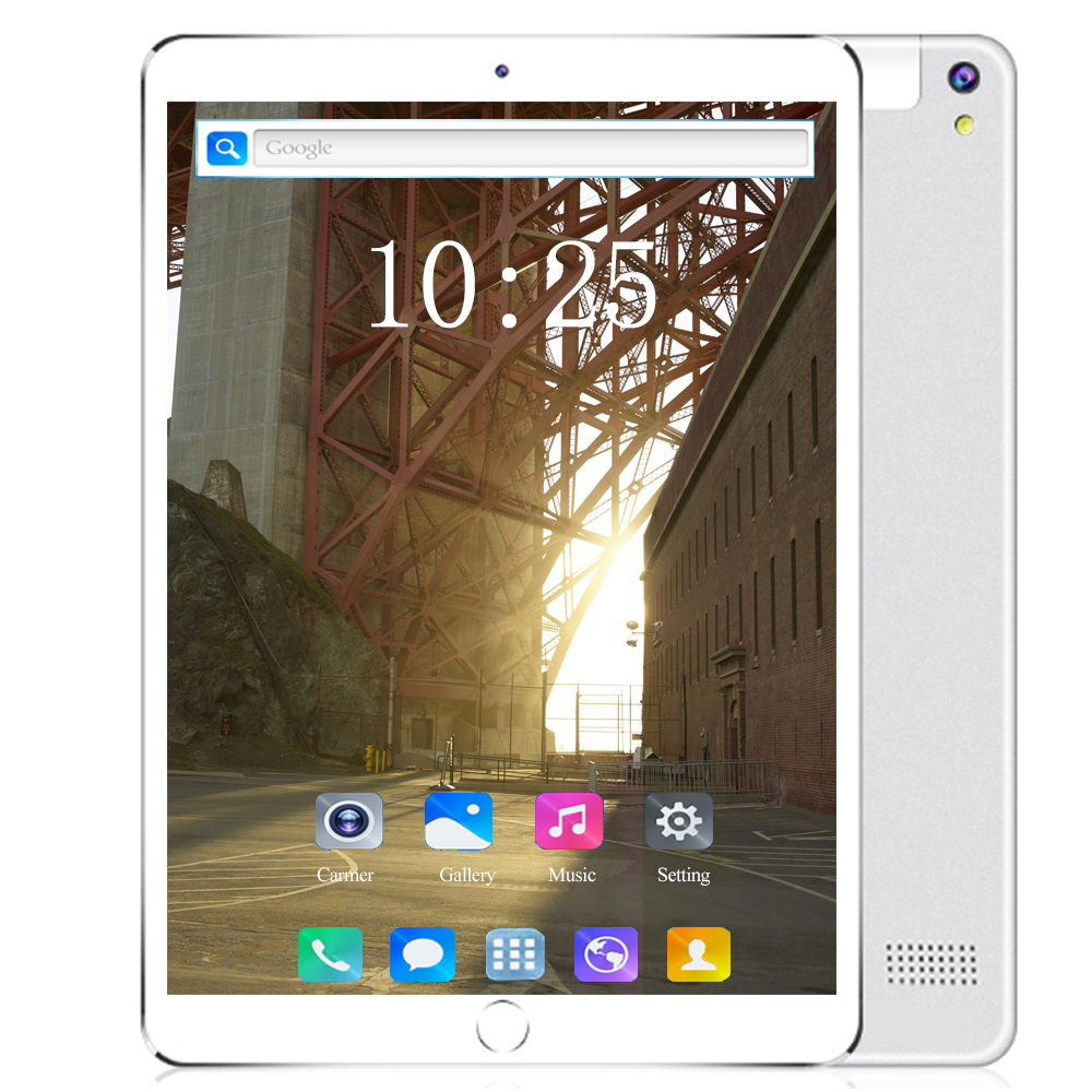 Fast Shipping 10 Inch Tablet Android 8.0 Octa Core 6GB RAM 128GB ROM 3G 4G FDD LTE Wifi GPS Phone Call Glass Screen Tablet Pc