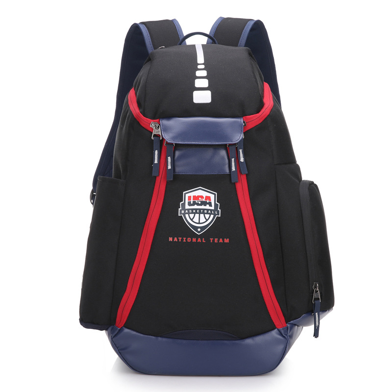 Factory Wholesale 2830 Team Usa Nba Basketball Backpack High Quality Men's And Women's Elite Travel Bag A Generation Of Fat