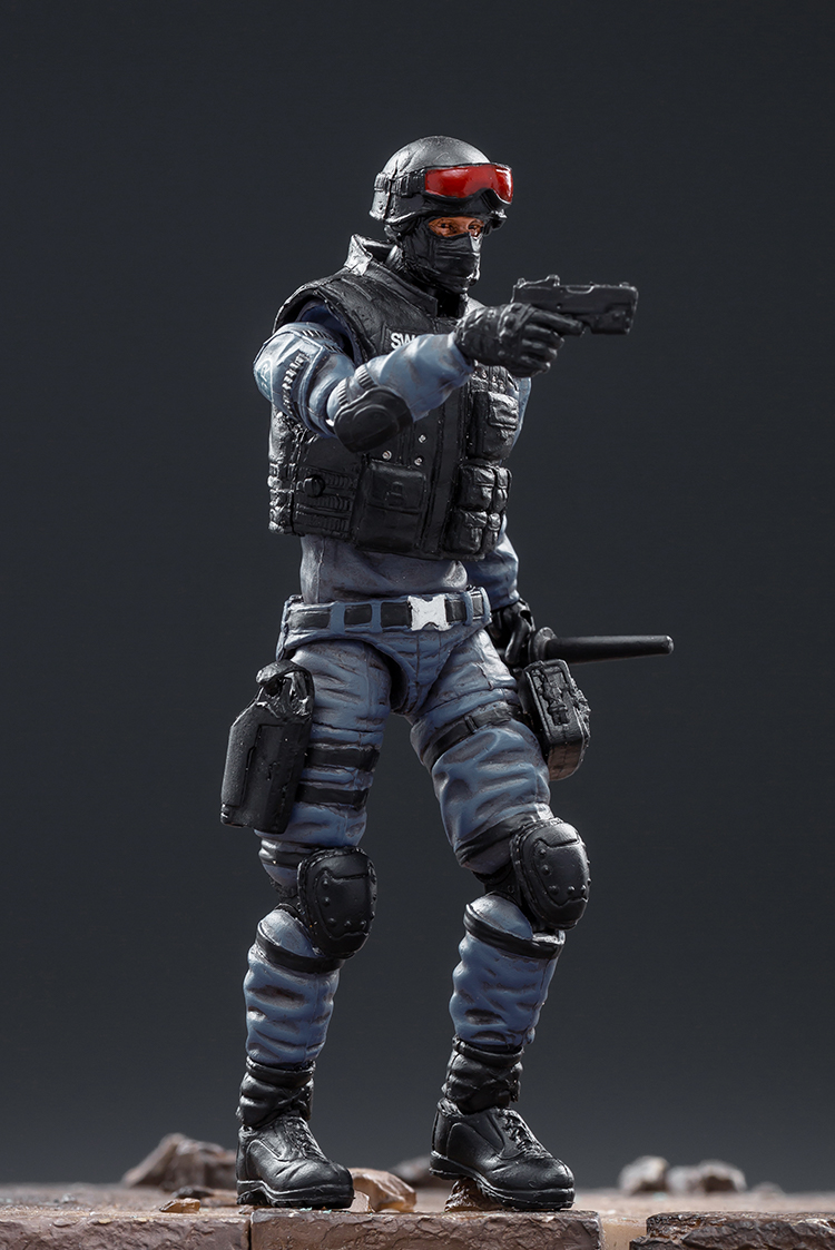 crossfire defesa swat jogo soldado figura modelo