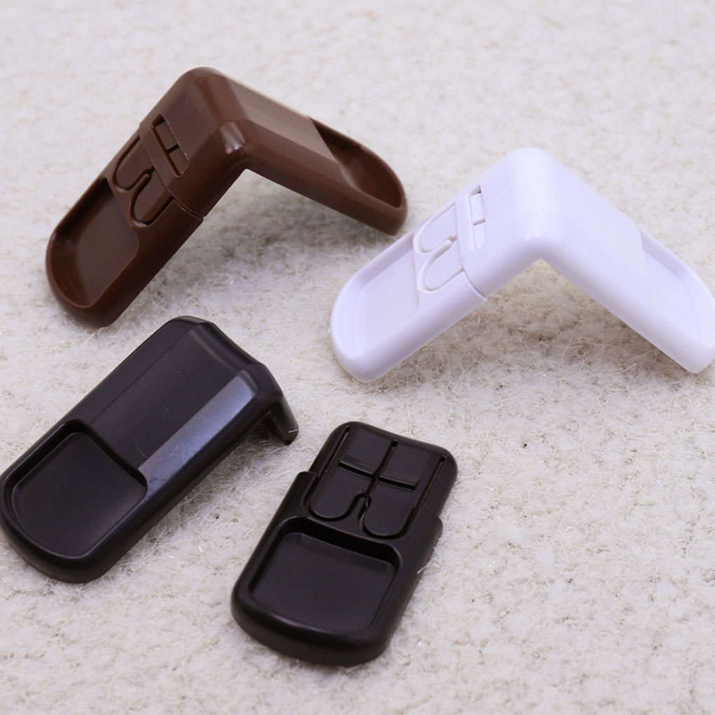 Hot Sale 4 PCS/Set New Baby Child Safety Lock Double Snap Fastener Drawer Cabinet Door Locks