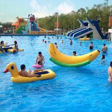 Вода seesaw банан аквапарк infatable toy