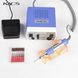Image 2 - KADS perceuse à ongles 30000 tr/min, outils de manucure et pédicure, appareil électrique avec poignée, ensemble de mèches, 4 couleurs au choix