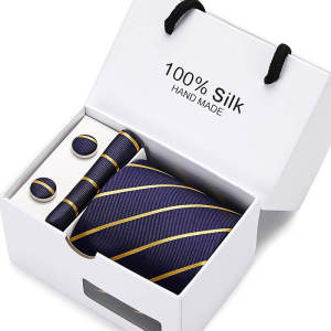 Men Tie Cufflinks Ha...