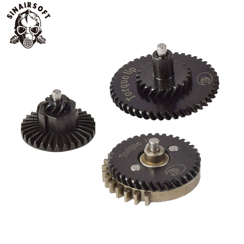 New BD 100:200 Torque Up Gear Set For Ver 2 /3 AEG Airsoft Gear Box Tactical Wargame Hunting Paintball Shooting Accessories