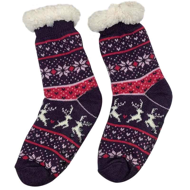 Kids Plush Home Shoes Girls Boys Plush Children Cartoon Indoor Floor Sock Winter Foot Warmer Socks Footwear