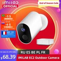 IMILAB-cámara de seguridad EC2, versión Global, 1080P, HD, cámara inalámbrica para exteriores, Mijia AI, IP, visión nocturna infrarroja, IP66
