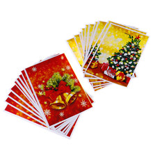 10 pièces/lot sacs de cadeau de noël en plastique Boutique pochettes Shopping cadeau paquet sac fournitures de noël 17*25cm