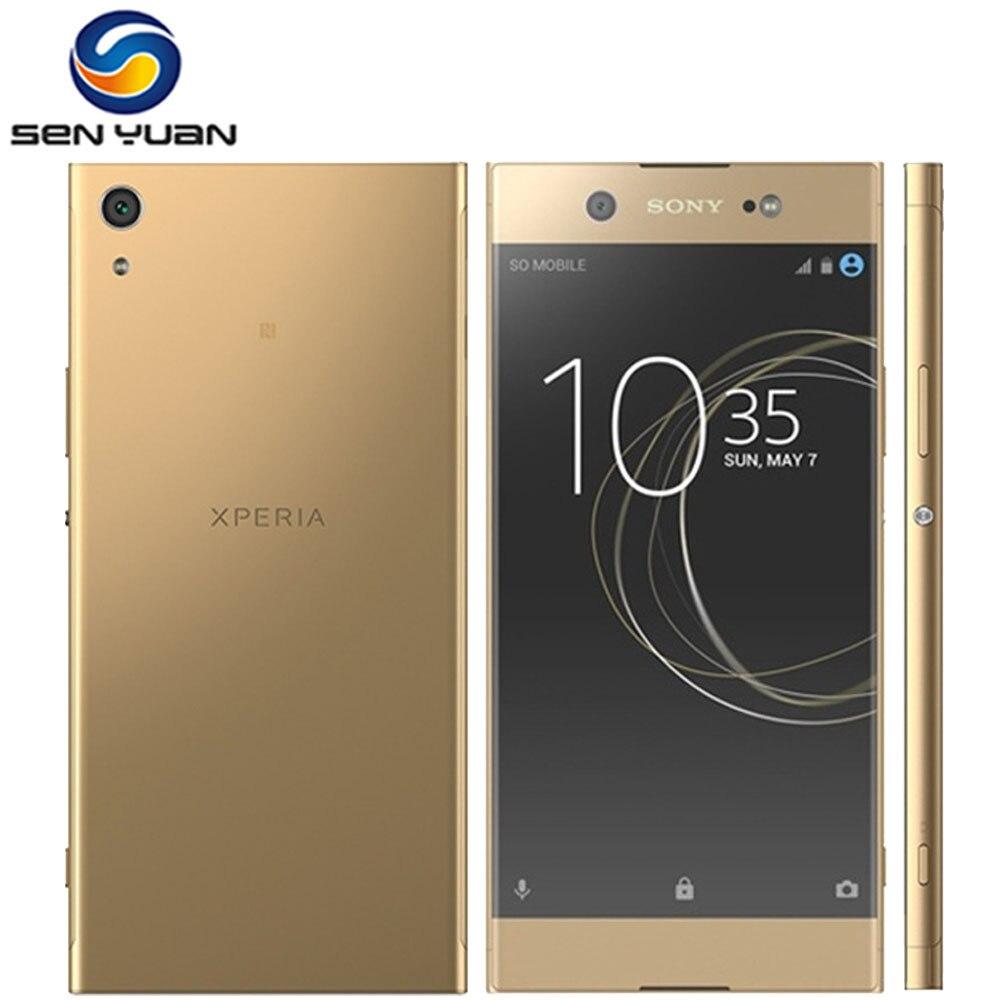 Оригинальный разблокированный сотовый телефон Sony Xperia XA1 Ultra 6,0 дюймов Восьмиядерный 4 Гб ОЗУ 32 Гб ПЗУ 23 МП LTE 1080P одна SIM-карта Восстановленный