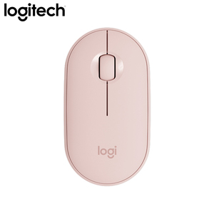 Image 5 - Logitech PEBBLE Bluetooth เงียบไร้สายบางและแบบพกพาโมเดิร์นเมาส์ 1000DPI 100G ความแม่นยำสูง OPTICAL