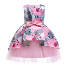 Prom Little Baby Girl Birthday Dress Fancy Butterfly Kids Wedding Flower Girls Princess Party Pageant Formal
