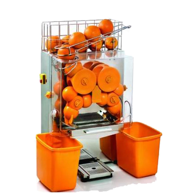 Free shipping automatic Citrus orange Juice Extractor machine commercial electric orange juicer making price|Juicers| |  - title=