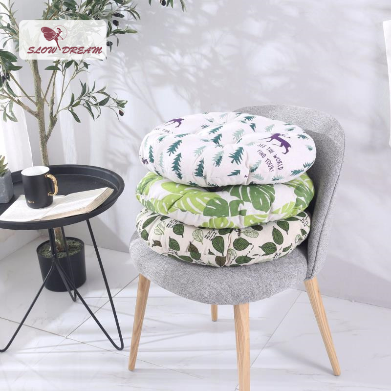 Slow Dream Seat Back Cushion Keep Worm Home Decorative Nordic Abrasive Material Chairs Sofa Adult Child Home Decor Seat Cushion
