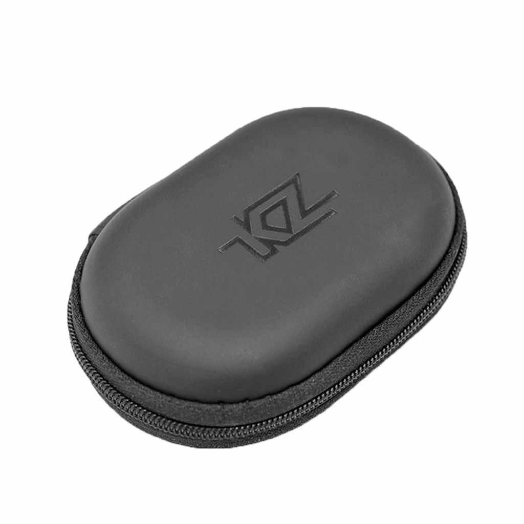 2019 nowe słuchawki torba schowek słuchawki pojemnik na pudełko dla KZ ZS10 ES4 ZSR ATR ED2 ZST kabel usb etui ochronne torby @ 20