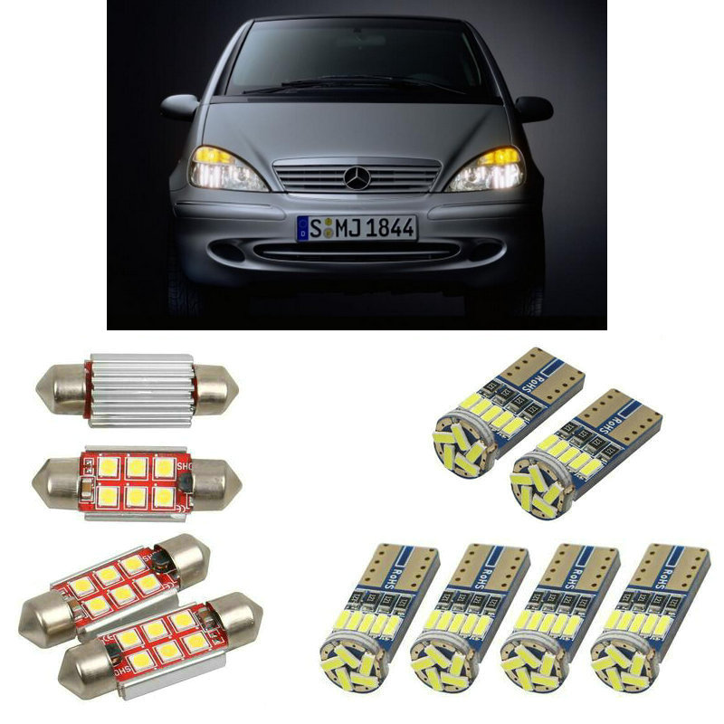 Fits Mercedes B-Class W245 B 150 White 6-SMD LED 39mm Festoon Number Plate Bulb