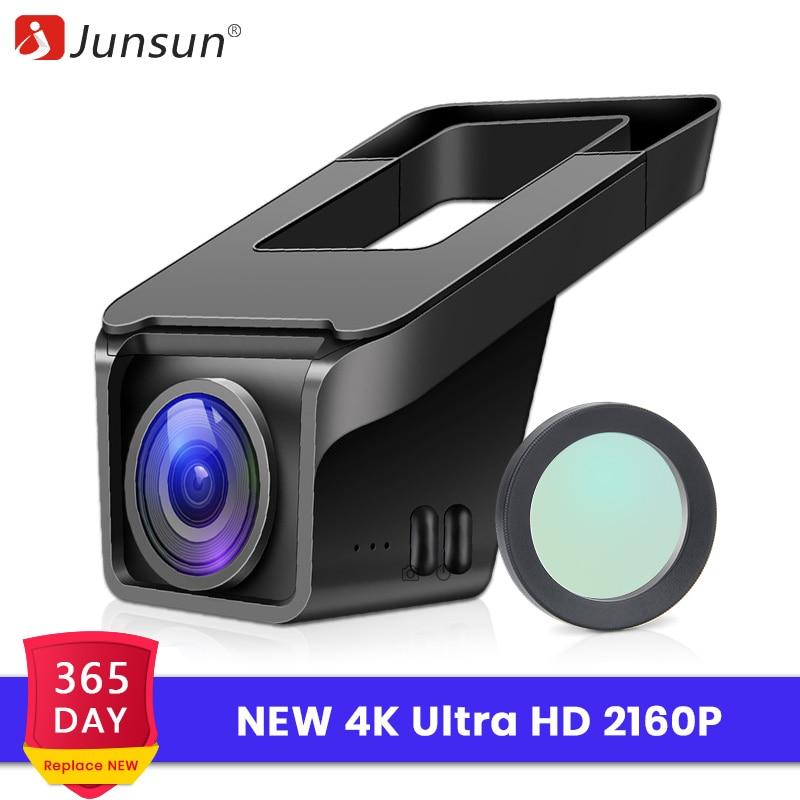 "TOGUARD 4K UHD 2160P 3/"" Dash Cam Car Camera WiFi GPS DVR Recorder Night Vision"