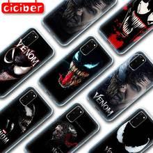 ciciber Venom Soft TPU Case for Samsung Galaxy S10 S9 S8 S7 S20 Plus Ultra S10e A50 A51 A71 A70 A20 A10 A40 NOTE 10 9 Plus Coque chocolates design glass case for samsung s7 edge s8 s9 s10 plus s10e note 8 9 10 a10 a30 a40 a50 a60 a70