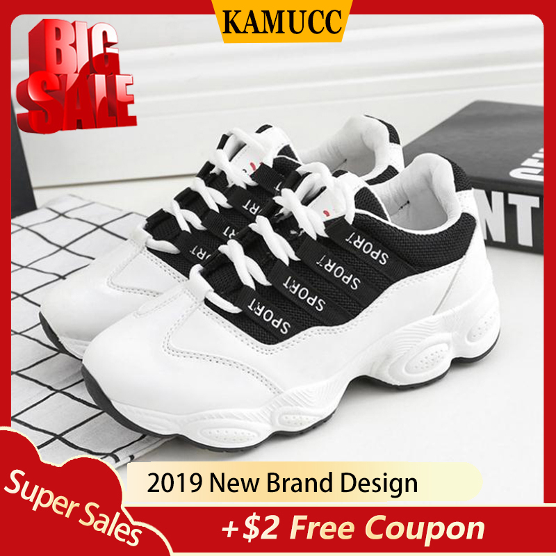 New Summer White Mesh Women Sneakers Fashion Thick Bottom Womens Platform Sneakers Casual Shoes Zapatos De Mujer
