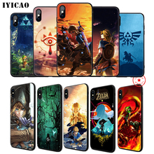 IYICAO The Legend of Zelda Soft Phone Case for iPhone 11 Pro XR X XS Max 6 6S 7 8 Plus 5 5S SE Silicone TPU 7 Plus цена и фото