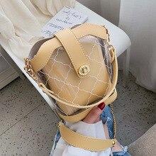 New 2019 Fashion Women Bucket Bags Brand Shoulder handbags Luxury Solid Soft Casual Messenger Crossbody For