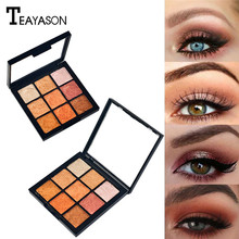 9 Colors Eye Shadow Palette Matte Shimmer Pigmented Eyeshadow Palette Long-lasting Waterproof Eye Shadow Women Daily Cosmetics все цены