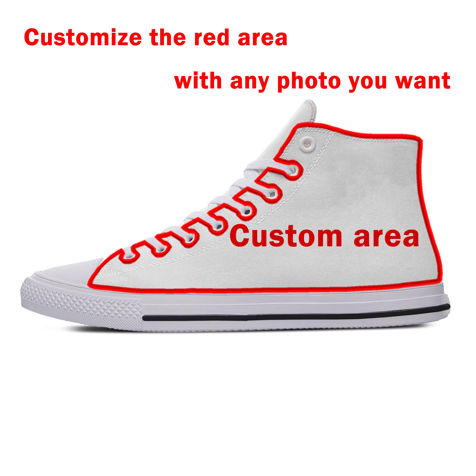 Custom Shoes 2020 Hot Fashion Classical Breathable Lightweight DIY Sneakers 3D Printed Any Photo You Want Casual Men Women Shoes