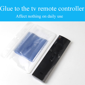 New 10Pcs Clear Shrink Film Bag TV Remote Control Case Cover Air Condition Remote Control Protective Anti-dust Bag
